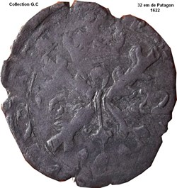32 em de Patagon Philippe IV 1622