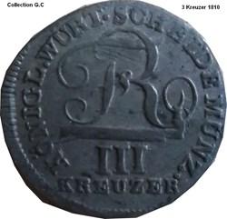III Kreuzer 1810