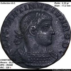CONSTANTIN II RIC 328