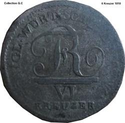 VI Kreuzer 1810
