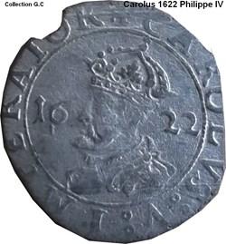 Carolus 1622 Philippe IV