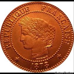 Deux Centimes 1878 A