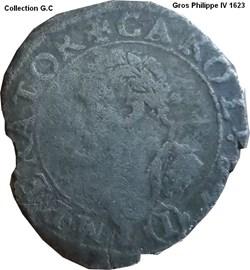 Gros Philippe IV 1623