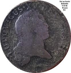 Sol au buste enfantin 1720 B
