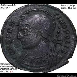 CONSTANTINOPOLIS RIC 363