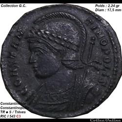 CONSTANTINOPOLIS RIC 543