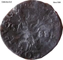 Gros Philippe II 1588