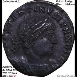 CONSTANTIN II     Né en          février 316 ap. J.-C., Arles Date de décès : avril 340 ap. J.-C.