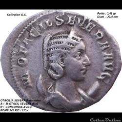 OTACILIA SEVERA Femme de Philippe l'Arab...