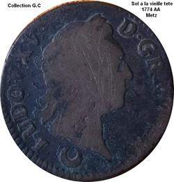 Sol a la vieille tète 1774 AA Metz
