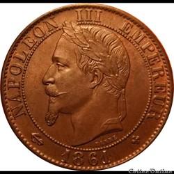 5 Centimes 1861 BB