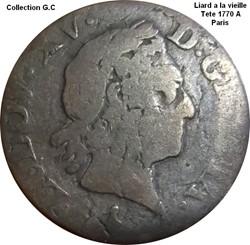 Liard a la vieille tète 1770 A Paris