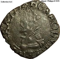 Niquet Philippe II 1578