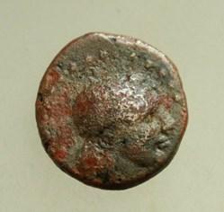 Dionysopolis AE16 grape
