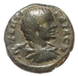 Geta AE18 Harpokrates