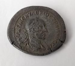 Trajan Decius AE30 eagle