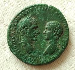 Macrinus AE27 Artemis