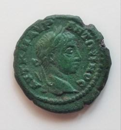 Elagabalus AE16 grape