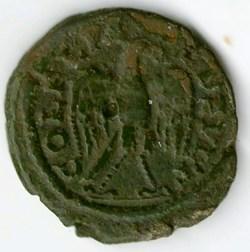 Gordian III AE eagle