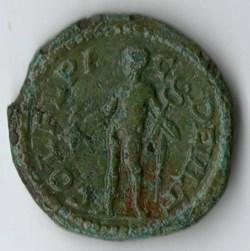 Philippus I AE Hermes