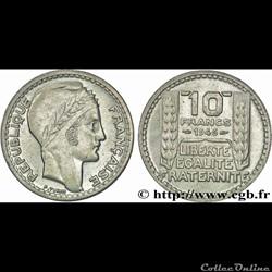 10 francs 1946