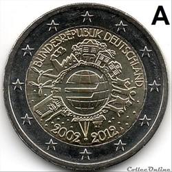 10 ans euro 2012