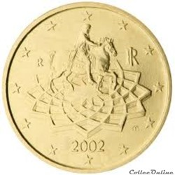 50 cts italie 2002