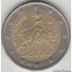2 euros 2002