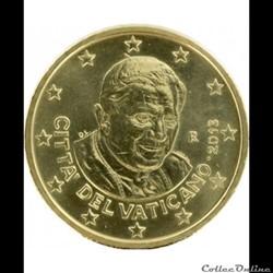 50 cts vatican 2013