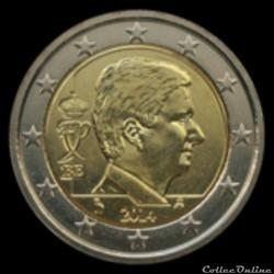 centimes d'euros belgique 2014