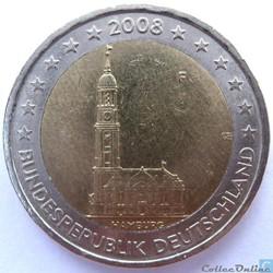 2 euros hambourg  f