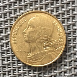 10 centimes 1981 marianne