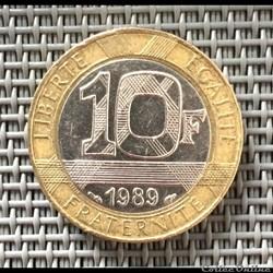 10 francs 1989