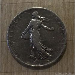 2 francs 1898 Semeuse