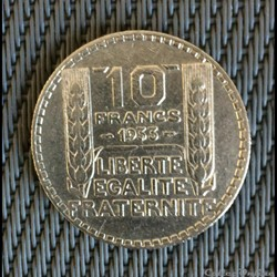 10 francs 1933 Turin