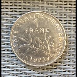 1 franc 1975 semeuse