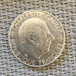 1 franc 1988 De Gaulle