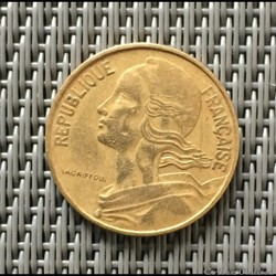 10 centimes 1962 marianne