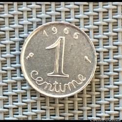 1 centime 1966 épi
