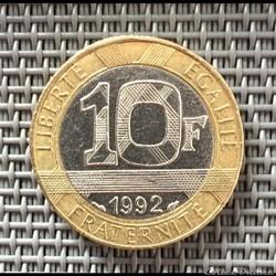 10 francs 1992