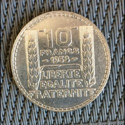 10 francs 1938 Turin