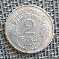 2 francs 1949 Morlon
