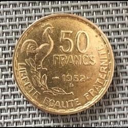 50 francs 1952 B