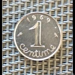 1 centime 1969 épi