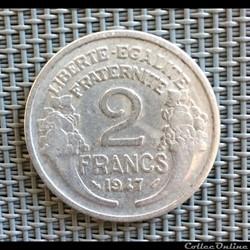 2 francs 1947 Morlon