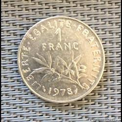 1 franc 1978 semeuse