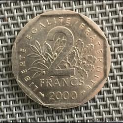 2 francs 2000 semeuse