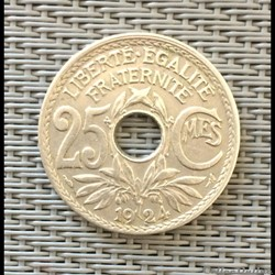 25 centimes 1924