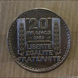 monnaie france moderne 20 francs 1929 turin
