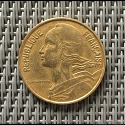10 centimes 1963 marianne